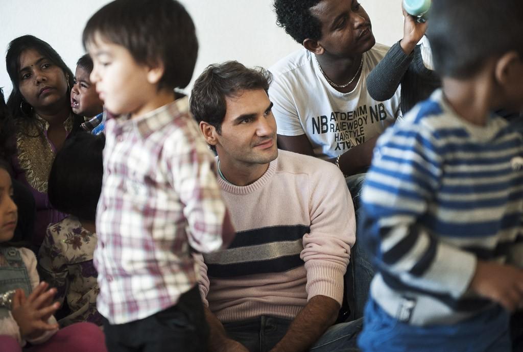 Roger Federer Tennisspieler – Tom Haller Zürich